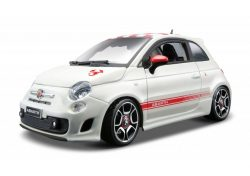 Abarth 500 ( Kit ) 1:24 wit/rood